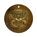 Mr. Cyclops Twobrow (Distressed) Ornament (Round)
