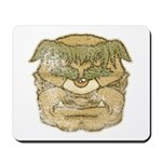 Mr. Cyclops Twobrow (Distressed) Mousepad