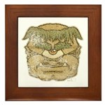 Mr. Cyclops Twobrow (Distressed) Framed Tile