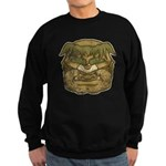 Mr. Cyclops Twobrow (Distressed) Sweatshirt (dark)