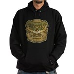 Mr. Cyclops Twobrow (Distressed) Hoodie (dark)