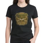 Mr. Cyclops Twobrow (Distressed) Women's Dark T-Sh