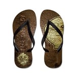 The Ghost (Distressed) Flip Flops