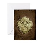 The Ghost (Distressed) Greeting Card