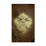 The Ghost (Distressed) Sticker (Rectangle 50 pk)