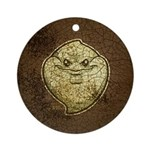 The Ghost (Distressed) Ornament (Round)