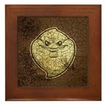 The Ghost (Distressed) Framed Tile