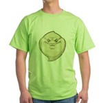 The Ghost (Distressed) Green T-Shirt