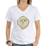 The Ghost (Distressed) Women's V-Neck T-Shirt