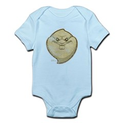 The Ghost (Distressed) Infant Bodysuit