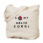 I *heart* My Corgi Tote Bag