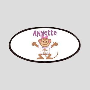 Little Monkey Annette Patches