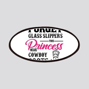 This Princess Wears Cowboy Boots Patch