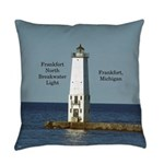 Frankfort North Breakwater Light Everyday Pillow