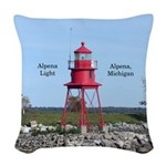 Alpena Light Woven Throw Pillow