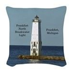 Frankfort North Breakwater Woven Throw Pillow