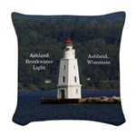 Ashland Breakwater Light Woven Throw Pillow