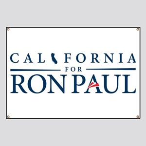 California for Ron Paul Banner