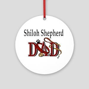 Shiloh Shepherd Ornament (Round)