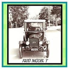 """""""1920 Model T"""" Poster"""