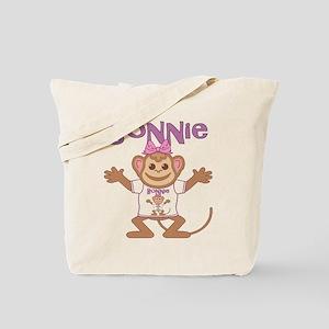 Little Monkey Bonnie Tote Bag