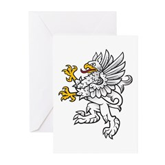 Gryphon Greeting Cards (Pk of 10)
