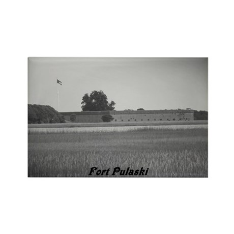 Fort Pulaski National Monumen Rectangle Magnet