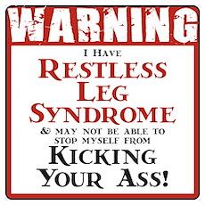 Restless Leg Syndrome Poster
