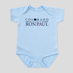 Colorado for Ron Paul Infant Bodysuit
