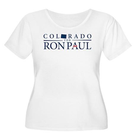 Colorado for Ron Paul Women's Plus Size Scoop Neck