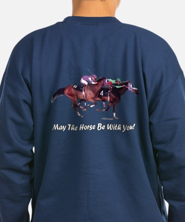 May The Horse Be With You dark Sweatshirt(B)