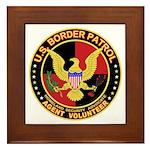 US Border Patrol mx1 Framed Tile