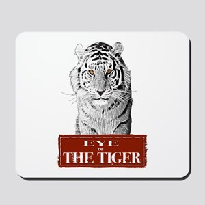 Eye of the Tiger Specail Effe Mousepad