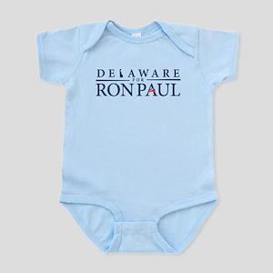 Delaware for Ron Paul Infant Bodysuit