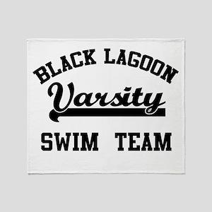 Black Lagoon Throw Blanket