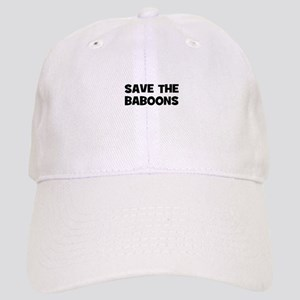 Save The Baboons Cap