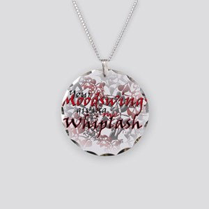 Whiplash Necklace Circle Charm