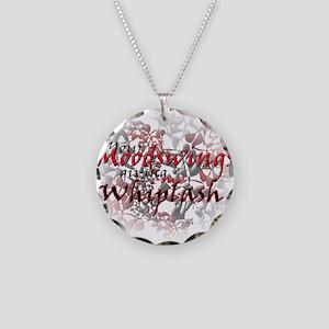 Whiplash Necklace Circle Charm