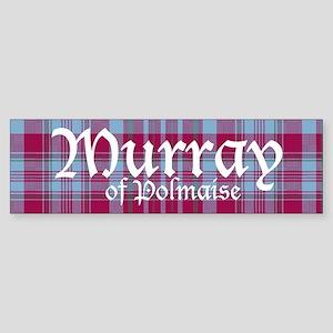 Tartan - Murray of Polmaise Sticker (Bumper)