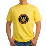US Border Patrol mx1 Yellow T-Shirt