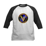 US Border Patrol mx1 Kids Baseball Jersey