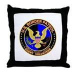 US Border Patrol mx1  Throw Pillow