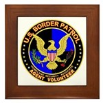US Border Patrol mx1 Framed Tile