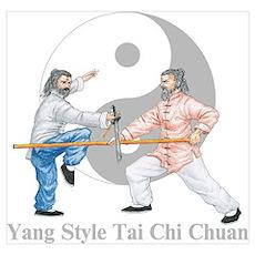 Yang Tai Chi 19x13 Poster