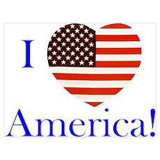 I Love America! Poster