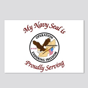 My navy seal Postcards (Package of 8)