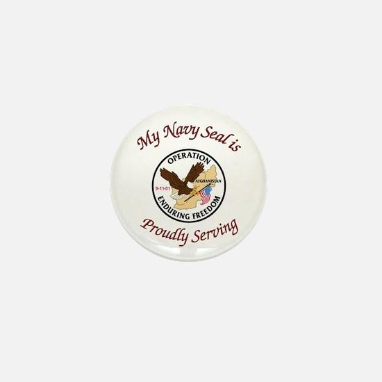 My navy seal Mini Button