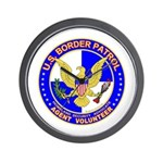 US Border Patrol mx1  Wall Clock