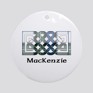 Knot-MacKenzie dress Round Ornament