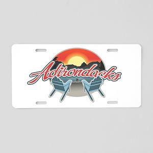 Threedown Adirondack Aluminum License Plate